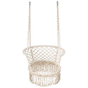 COSTWAY Hängesessel Hängestuhl Hängeschaukel 160 kg belastbar für Garten Schlaf- und Wohnzimmer