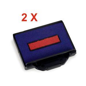 2 X Trodat Ersatzkissen 6/50/2 für Professional 5200 – Stempelfarbe zweifarbigFür Professional 5200, 5430, 5430/L, 5431, 5435