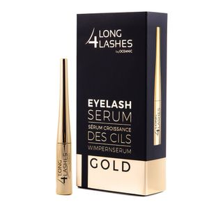 Long4Lashes GOLD Wimpernserum Wimpern 4 ml by Oceanic Eyelash Serum NEU TOP