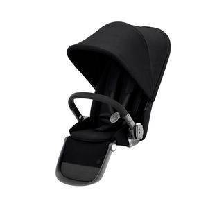 CYBEX Gazelle S Sitzeinheit, Cybex Kinderwagen Gestell:Black, Design::Deep Black