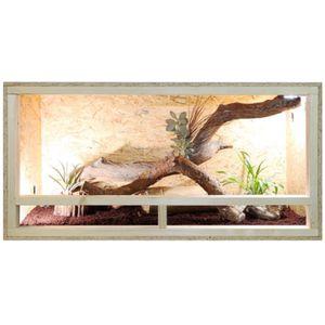 Repiterra Holz Terrarium mit Seitenbelüftung 120x50x50 cm