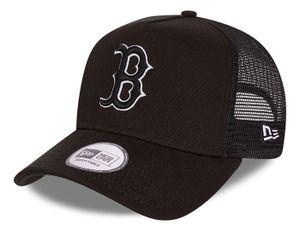 New Era - MLB Boston Red Sox Tonal Mesh Trucker Snapback Cap - Schwarz : Schwarz One Size Farbe: Schwarz Größe: One Size