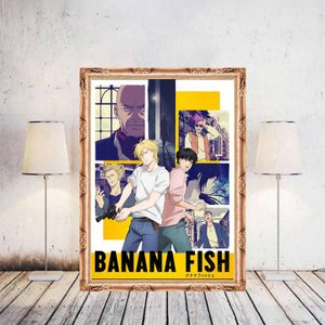 Anime Banana Fish Nachbildung Poster Wand Poster Home Decor --M