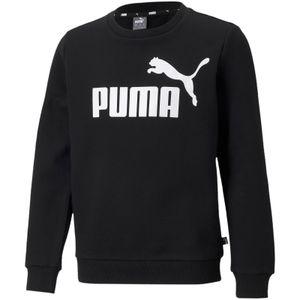 PUMA Essentials Big Logo Crew TR Sweatshirt Jungen puma black 164