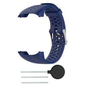 Polar M400 / M430 Armband Silikon Blau1