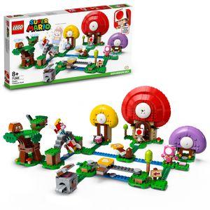 LEGO 71368 Super Mario Toads Schatzsuche – Erweiterungsset, Bauspiel
