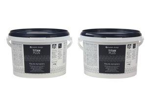 Styroporkleber | Acrylkleber | weiß | frostfest | Titan Plus, kg:8kg