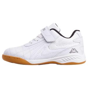 Kappa Kinder FURBO K Hallensportschuh Sneaker Indoor 260776 Weiß, Schuhgröße:35 EU