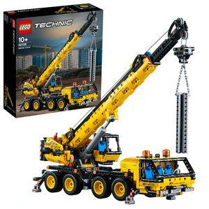 LEGO 42108 Technic Control+ Kran-LKW, Spielzeug Set aus Kran und LKW, Geschenk für Mädchen und Jungen ab 10 Jahre, Baufahrzeug für Kinder
