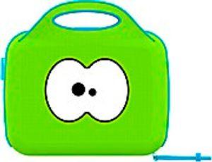 Neopren Tasche Lunch grün/blau