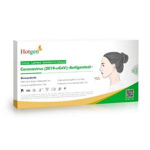 10x HOTGEN® Antigen-Test Kit Einzelverpackung Schnelltest Laientest für zu Hause zugelassen gem. BfArM   Virus ( )