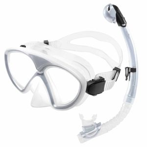Tauchermaske »SnorkelDiver« Schwimm-Maske / Swim Mask / Scuba Mask / Schnorchelmaske / Die perfekte Tauchmaske für das Schorcheln / Schnorchelset für Erwachsene und Jugendliche / schwarz