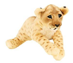 Löwe Baby braun XL Plüschtier ca. 60 cm liegend Kuscheltier Softtier