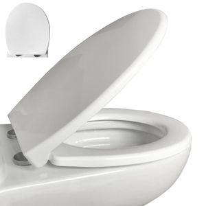 """WC Sitz Premium mit Absenkautomatik """"Softclose"""", Edelstahlbefestigung und """"Quick-Release-Funktion"""""""