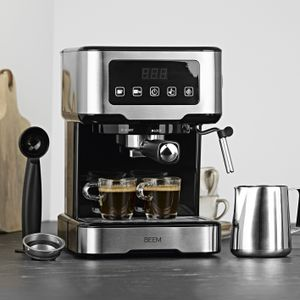 Siebträgermaschine Espressomaschine Siebträger Milchschaumdüse 15 Bar Touch BEEM