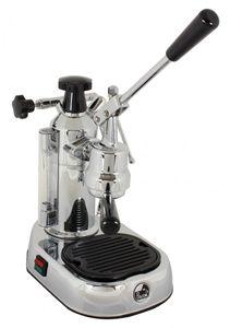 La Pavoni Europiccola Lusso EL Siebträger Espressomaschine Silber