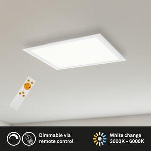 LED Panel Deckenlampe dimmbar Fernbedienung CCT Weiß 24 W Briloner Leuchten