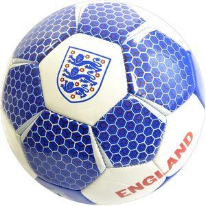 England FA - Vektor - Fußball, PVC RD430 (5) (Weiß/Blau)