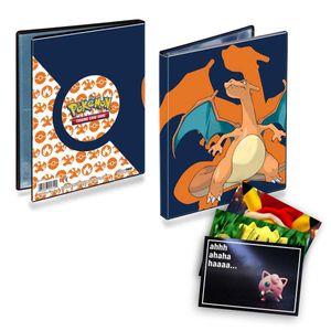 Pokemon Ultra-Pro-Album A5 mit Glurak 40 Fächer und exklusive GRATIS Grußkarte