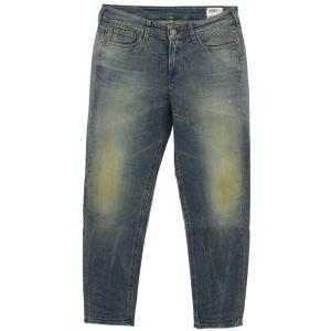 24116 G-Star, 3301 Tapered,  Damen Jeans Hose, Superstretch, blue aged, W 28 L 30