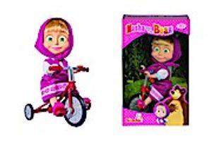 Original Dreirad mit Puppe Mascha | Mascha und der Bär | 12 cm