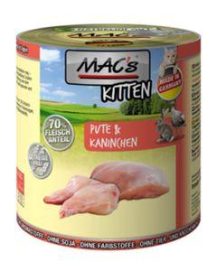 200g MAC's Kitten Pute & Kaninchen
