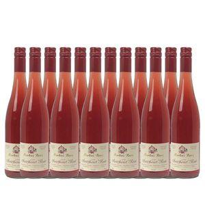 Rosé Mosel Weingut Markus Burg Qualitätswein Sweetheart lieblich und vegan (12x0,75l)