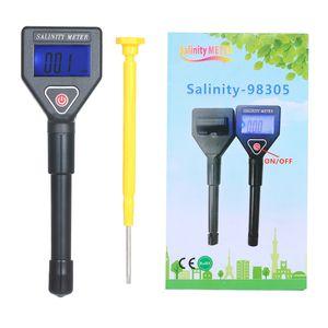 Meerwasser-Salzgehalt-Refraktometer Tragbares Hand-Salzgehalt-Messgeraet ATC-Salinometer Aquarium Halometer Salzwasser-Salzwassertester