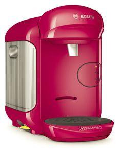 Bosch Tassimo Vivy 2 + 20 EUR Gutscheine* Heißgetränk Kaffee Maschine , Farbe:Pink