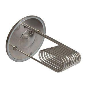 Brew Monk™ Kühlspirale für konischen Gärbehälter 30 l - Wasser - Kühlung für Jede Vergärung nutzbar * Würzekühler zur Tempertursteuerung während des Gärprozess