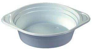 PAPSTAR Kunststoff Suppenterrine rund weiß 500 ml 100 Stück