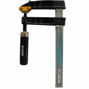 Ironside 123-067 Schraubzwinge 600 x120mm 30 x 8, schwarz/grau