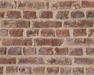 A.S. Création Papiertapete Authentic Walls beige braun rot 10,05 m x 0,53 m 302191