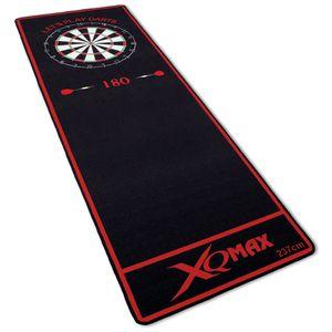 Turnier Dartmatte 237x80cm offizieller Spielabstand Dartteppich Dart Matte rot schwarz