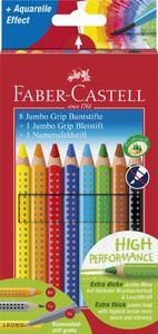 FABER-CASTELL Dreikant-Buntstifte Jumbo GRIP Promoetui