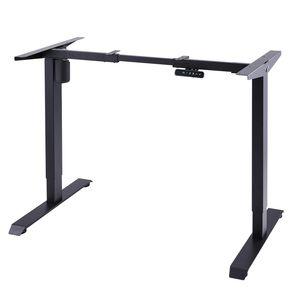 Schwarz Tischgestell Schreibtisch Gestell Elektrisch Höhenverstellbar Gestell ArbeitstischBürotisch Homeoffice