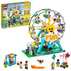 LEGO 31119 Creator Riesenrad Konstruktionsspielzeug, Freizeitpark, Spielzeug für Jungen und Mädchen ab 9 Jahren