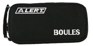 Boule Boccia Krocket Petanque Set 8 große ( 4 x 2 ) 1 kleine Kugel inkl. Koffer
