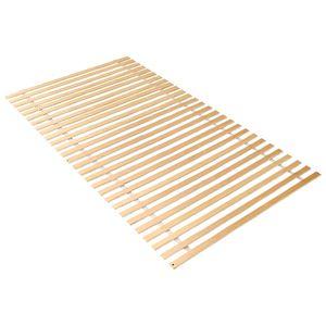 Wolketon Lattenrost Rolllattenrost 90 x 200 cm mit 28 Leisten- geeignet fuer alle Matratzen, Komfort Lattenrost