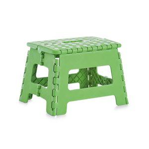 Klapphocker Kunststoff Grün 32x25x22cm