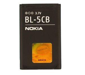 Nokia BL-5CB, 800 mAh  für Nokia C1-01, C1-02, X2-05, 1616, 1800, 100, 101, 105, 106, 109