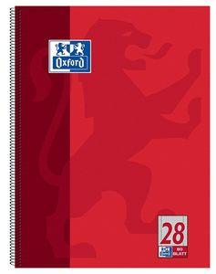 Oxford Collegeblock DIN A4+ kariert 80 Blatt Rand links und rechts