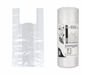 Hemdchenbeutel 48x22x12cm Transparent, bis 5kg, 250 Stück