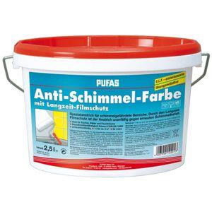 PUFAS Anti-Schimmelfarbe - 2,5 Liter