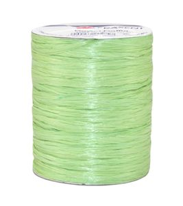 Rayon Raffia Bast auf Rolle, grün (100 m)