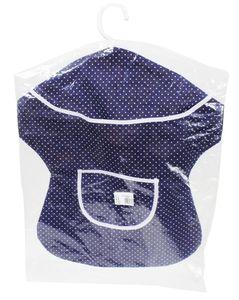 WÄSCHEKLAMMERKLEID 36x48 cm für 130 Wäscheklammern mit Bügel Wäscheklammerbeutel Klammerkleid Klammerbeutel 26 (Punkte)