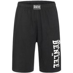 BENLEE Rocky Marciano Jersey Bermuda Shorts Herren Schwarz, Größe:XL