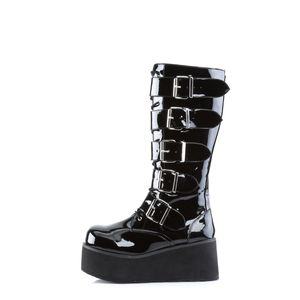 Demonia TRASHVILLE-518 Stiefel schwarz, Größe:40/41 (US-M8)
