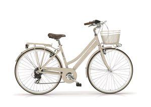 "Trekkingbike New Boulevard Woman 28"" 6-Gang Creme"