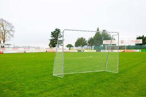 Fußballtor Garten 3 x 2 m - Stahl - inkl. Netz, Netclips und Bodenanker - WETTERBESTÄNDIG - Klicksystem